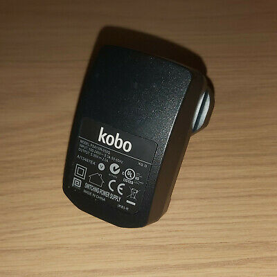 Genuine Kobo Tablet Charger AC Adapter PSAI10R-050Q 5.35v 2a UK 3 Pin • 9.99£