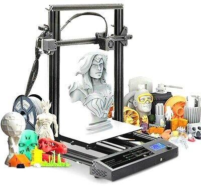 S8 Large 3D Printer Kit 310x310x400mm Printer Size And Accessories Use Fillament • 395£