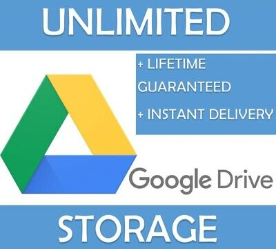 Google Drive Unlimited Storage [for Existing Google Account] [lifetime] • 1.50£