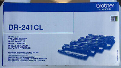 Genuine Brother DR-241CL Drum Units (Open Box, Sealed Drums) • 84.95£