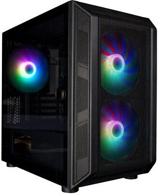 1st Player DK D3 Black Mid Tower Case - Black USB 3.0 • 41.15£