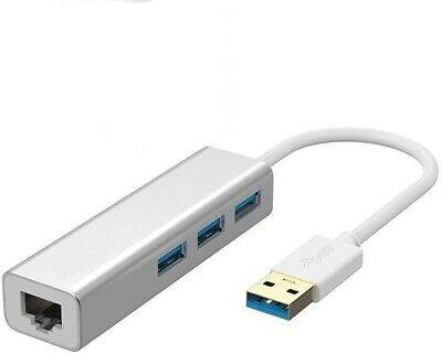 USB 3.0 To Ethernet Adapter To Lan/rj45 Ethernet With Usb 3 Usb Port • 6.99£
