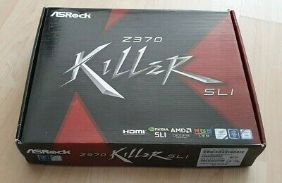 ASROCK Motherboard Z370 Killer SLI, NEW Opened Box, Socket Lga 1151 Motherboard • 99.99£