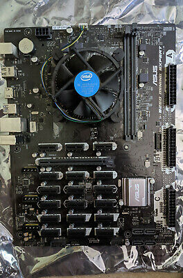 Asus B250 Mining Expert SKT 1151 Motherboard - Tested Fully Working 19 Slot GPU • 30£