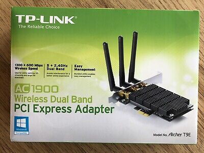 TP-LINK Archer T9E Dual Band Wireless PCI Express Adapter • 14.50£