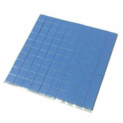 100pcs 10mmx10mmx1mm Microchip Heatsink Cooling Thermal Conductive Silicone Pads • 5.89£