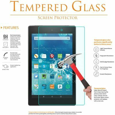 Tempered Glass Screen Protector For ALL Amazon Kindle Fire (HD) 7 8 10 2015-20 • 3.49£
