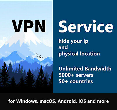 Super VPN Service 5 Years VPN Windows, MacOS, Android, IOS And More • 0.99£