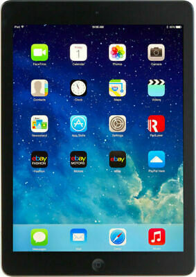 Apple IPad Air, 16GB, 9.7 In, Retina Display - Space Grey - 12 Months Warranty • 149.99£