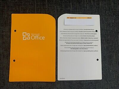 Genuine Microsoft Office 2010 Home And Business Retail Version UK • 21.99£
