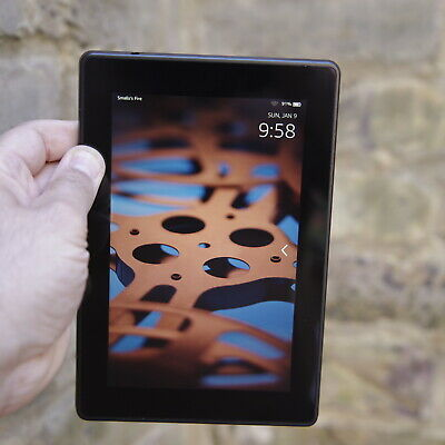 Kindle Fire HD 3rd Gen 8GB, Wi-Fi, 7in - Black Tablet With Case Smart Reader   • 9.99£