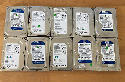10x Mixed 3.5 HD Hard Drives *PRICE TO CLEAR* *UK ONLY* • 49.99£