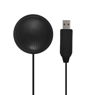 USB Laptop Omnidirectional Condenser Conference Microphone For Recording Gaming • 11.85£