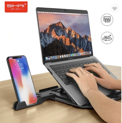 PRICE DROP Portable Laptop Stand / Riser AND Phone Stand For Home Office • 15£