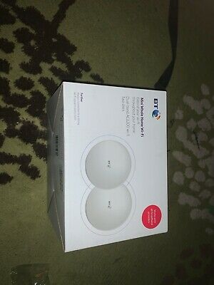 BT Mini Whole Home Wi-Fi - Dual Band AC1200 - Two Discs - Brand New - Unopened • 5.50£