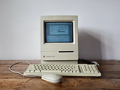 Vintage Apple Macintosh Classic M0420 • 200£