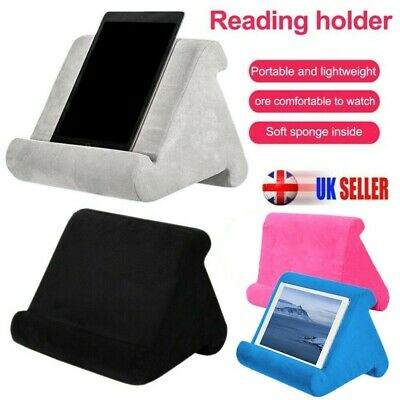 Multi-Angle Laptop Holder Tablet Foam Pillow Stand Cushion For Phone IPad Book • 9.69£
