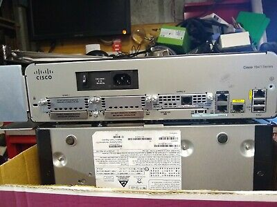 Router Cisco 1941 INCLUDING EHWIC VA-DSL-A V01 Card • 140£