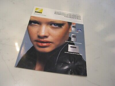 Nikon Super Coolscan 9000ED/5000ED/V ED Sales Marketing Brochure Catalogue 2008 • 30£