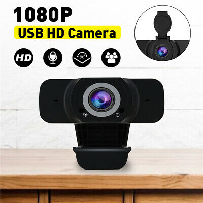 1080P HD PC Laptop Camera USB Webcam For Video Calling Web Cam With Microphone • 10.68£