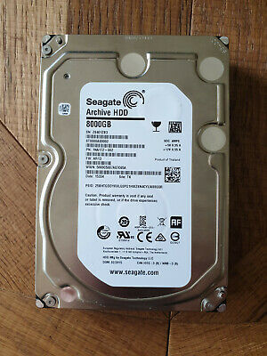 Seagate (ST8000AS0002) 8TB Archive SATA III (3.5 ) 6Gbps 5.9K 128MB Hard Drive • 124£