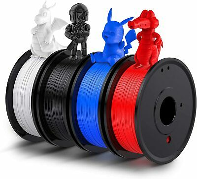 3D Printer Filament PLA 1.75mm Various Lengths And Colours UK Black White Lot • 16.89£