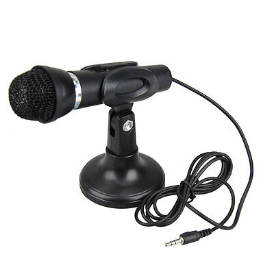 Directional High Definition Mini Audio Mic With Stand 3.5mm Jack • 10.49£