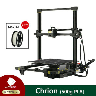 ANYCUBIC Chiron 3D Printer Assist Leveling φ400x450mm Fast Assembly + 1/3/5p PLA • 389£