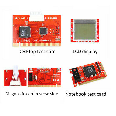 Universal Tester Motherboard Diagnostic Card Tablet Post For Laptop Computer PCI • 8.54£