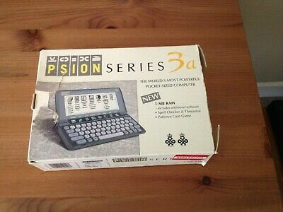 Psion Series 3a - 1MB RAM (With User & Programming Manuals And Other Material)  • 26£