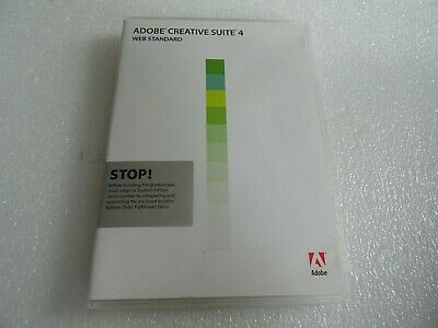 Adobe Creative Suite 4 - Windows Discs Only No Product Code • 10£