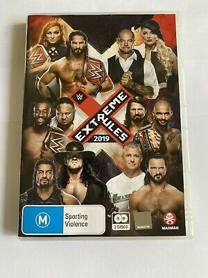 WWE: Extreme Rules 2019 DVD Two Disc  (Region 4 Australia) • 11.55£