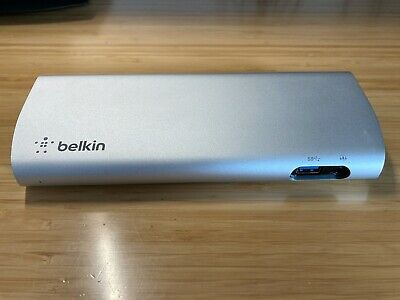Belkin Thunderbolt 2 Express Dock HD Audio/TB2/USB3/Network/HDMI Expansion Unit • 49.99£