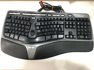 Microsoft Natural Ergonomic Keyboard 4000 V1.0 IN REASONABLE CONDITION  • 29£