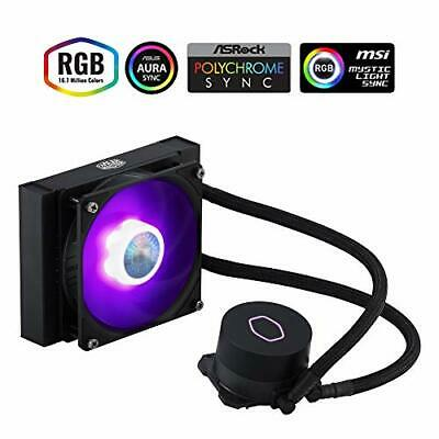 Cooler Master MasterLiquid ML120L V2 RGB CPU Liquid Cooler - Brighter Lighting E • 66.90£