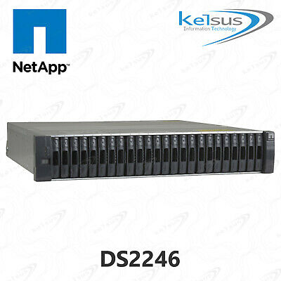 Netapp DS2246 NAJ-1001 24 Drive Bay Chassis Disk Array Storage Expansion X559A-R • 119.99£