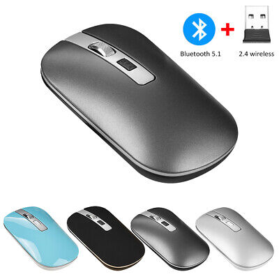 2.4G Wireless Bluetooth USB Mouse Dual-Mode Optical For Laptop Computer PC IPad • 7.88£