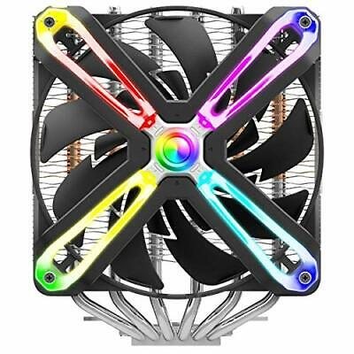Zalman CNPS20X RGB CPU Cooler With Dual 140mm Fans - Black • 98.33£