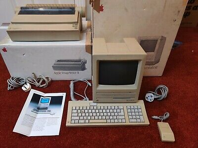 Apple Macintosh SE And Imagewriter 2 In Working Condition And Original Boxes. • 53£