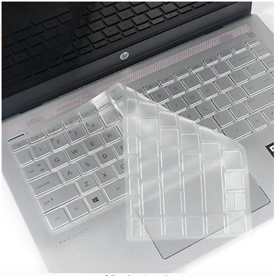 Clear Keyboard Protector Cover Skin For HP Pavilion X360 (US Layout) • 2£