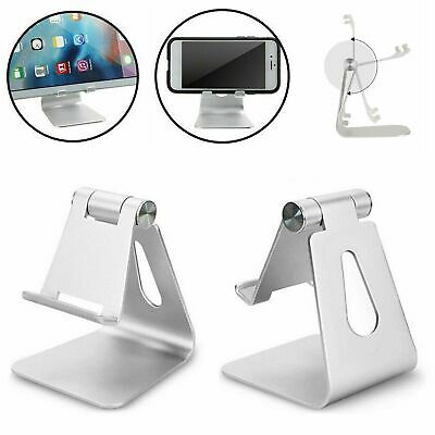 Adjustable Desk Table Stand Holder Tool For IPad Tablet Phone Light Part Silver • 7.99£