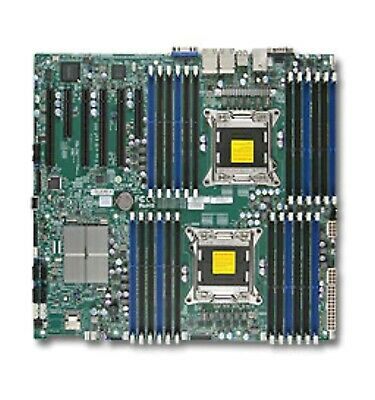Supermicro X9DRi-LN4F+ Dual Socket Motherboard   ** V1 CPU ONLY ** • 89£