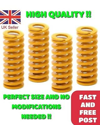 4 X Hot Bed Level Springs For Creality Ender 2/3/5 CR-10S Pro 3D Printer UK • 4.98£