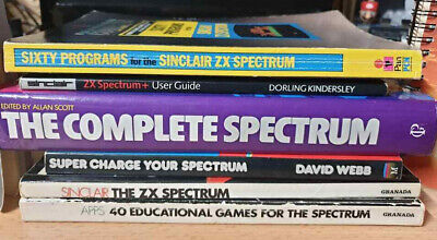 Zx Spectrum Books Super Charge 40 Apps Complete 60 Programs And Manuals Rare • 80£