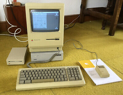 Vintage Apple Macintosh Plus Bundle • 70£