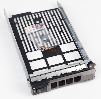SAS SATA HDD Tray Caddy 3.5  0F238F For Dell PowerEdge R410 R610 R710 F238F • 6.39£