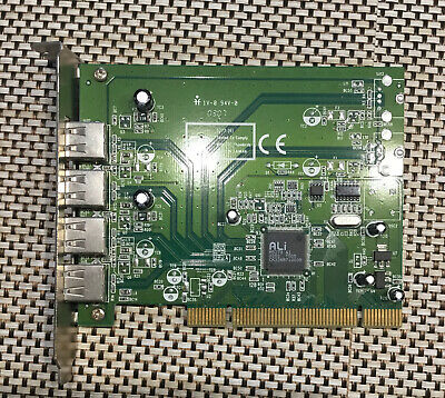 4 Port USB PCI Card. • 1£