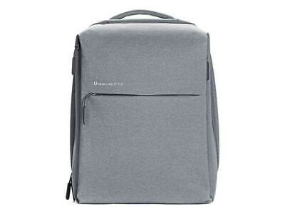 Xiaomi Mi City Backpack Grey Waterproof Port Tablet Travel Urban Life Style • 46.36£