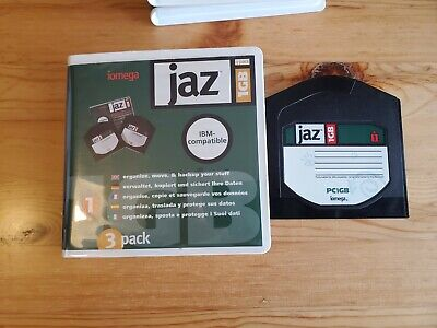 5x 1GB JAZ Disks - PC Formatted (USED) • 45£