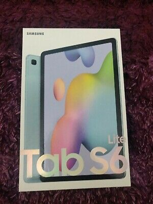 Galaxy Tab S6 Lite (64GB, LTE, WIFI And 4G) BLUE - Brand New & Sealed. Unlocked. • 290£